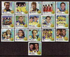 AUSTRALIA 2000 OLYMPIC GAMES WINNERS DIGITAL  SET OF 16 FINE USED POSTED FREE.
