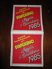 SUPER ALMANACCO DI PAPERINO REGALA IL CALENDARIO 1985 DISNEY