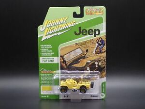 2021 JOHNNY WHITE LIGHTNING JEEP CJ5 GOLDEN EAGLE CLASSIC GOLD RELEASE 2B CHASE