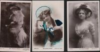 Edwardian Actress  'Miss BLANCHE STOCKER' Postcards  RN.91