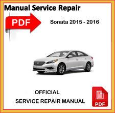 Hyundai Sonata 2015 - 2016 Factory Service Repair Workshop Manual
