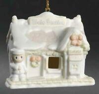 Precious Moments Sugar Town Train Station LE Ornament Enesco 184101 New in Box