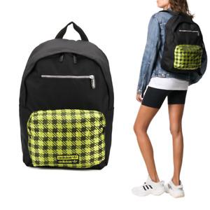 Adidas Originals Backpack - Black & Yellow Check RYV