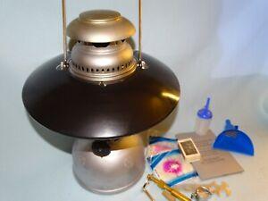 Petromax  Geniol Schweizer Armee Starklicht Hasag Benzinvergaserlampe Laterne