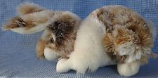 Dan Dee Collector's Choice Harlequin Angora Rabbit Flop Earred ~ FREE SHIPPING