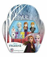 2019 DISNEY'S FROZEN 2 PEZ SET OF 4 - ANNA ELSA KRISTOFF & MINI OLAF IN GIFT TIN