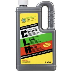 CLR Calcium Lime Rust Remover 1L Cleaner