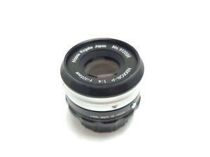 Nikon BELLOWS Nikkor P 105mm F4 Short lens Superb 12 blades!!