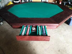 Handmade Poker Table