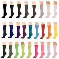 Plain Calf Socks