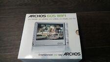 Archos 605 Wi-Fi Portable Media Player 80 GB - VGC