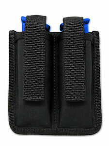 NEW Barsony Double Magazine Pouch for Sig Sauer Full Size 9mm 40 45 Pistols