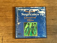 Supremes Reel to Reel - Greatest Hits - Motown 4 Track 3 3/4 IPS Stereo