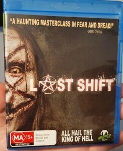 LAST SHIFT - Rare horror BLU RAY