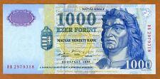Hungary, 1000 Forint, 1998, Pick 189 (189a) UNC