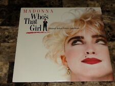Madonna Rare Who's That Girl Vinyl LP Record Soundtrack Sealed Columbia House !