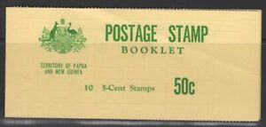 PAPUA NEW GUINEA SGSB2 1970 50c BOOKLET MNH