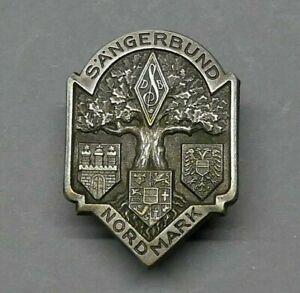 Abzeichen Anstecknadel Sängerbund Nordmark Brandenburg Wappen