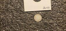 1861 3 Cent Silver Piece, Trime !! AU/BU High Grade !!