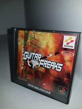 Guitarra Freaks Importado de Japón Juego para Sony Playstation 1 Ntsc-J Cib H9