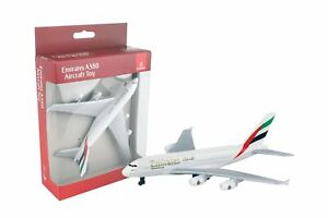 Emirates Airbus A380 Airliner Toy Airplane Diecast with Plastic Parts