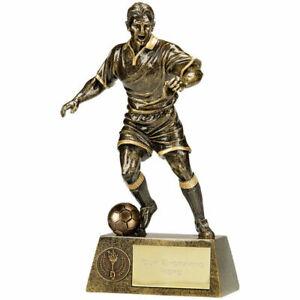 PINNACLE FOOTBALL TROPHY PERSONALISED PLAYER/MATCH AWARD *FREE ENGRAVING*