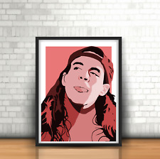 Anthony Kiedis-Art Print, Música Pared Arte, años 90 Rhcp, Red Hot Chilli Peppers