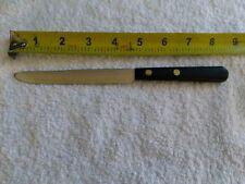 Vintage ROBESON SHUR-EDGE FROZEN HEAT 44651 Fine Serrated Steak Knife