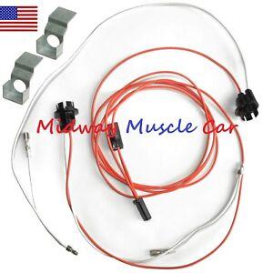 under dash courtesy light wiring harness 63 Chevy Impala Biscayne belair Corvair