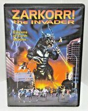 Zarkorr! The Invader Dvd 1996 Full Moon Monster Horror Sci-Fi Aliens Invaders