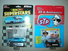 NASCAR diecast 43 Richard Petty STP Plymouth Superbird 25th anniversay Pontiac