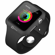 New Apple Watch Case Protector Protective Bumper IWatch 42mm Cover  BLACK
