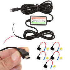 Hard Cable Wire Car Kit Dash Cam Mini Usb Circuit Fuse