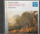 SCHUBERT SONATA FOR PIANO D 960 D 894 FORTEPIANO DEMUS DHM CD
