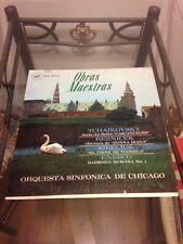 "Obras Maestras - Orquesta Sinfonica De Chicago 12"" Vinyl"