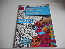 LIVRE DE COLORIAGE ADULTE - 16 PAGES - 32 DESSINS
