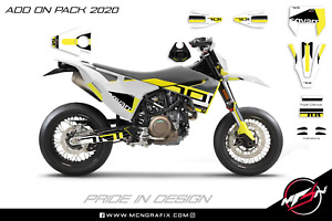 Husqvarna 701 Supermoto 2020 Graphics Add On Pack Stickers Decals