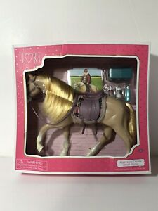 "Lori by Our Generation American Paint Horse With Accessories for 6"" Dolls"