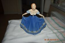 Vintage 1920's Royal Dux Figurine Lady Courtesy