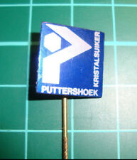 Puttershoek kristalsuiker sugar - stick pin badge 60s speldje Dutch sa1
