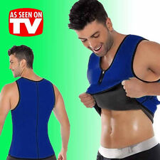 2016 Sport Mens Shaper Corset Sweat Vest Bodysuit Tummy Girdle Weight Loss Slim