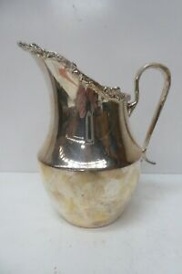 STRACHAN OLD SHEFFIELD REPRODUCTION SILVER PLATED POT JUG