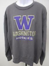 New Washington Huskies Mens Size Xl Xlarge Gray Sweater