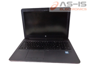 *AS-IS*HP Zbook 15 G3 Core i7-6700HQ 2.60GHz No Power No Memory No HDD (C302)