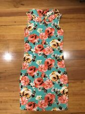 Myer SASS Dress Size S Size 8 Floral New Bnwt