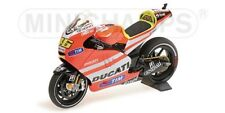 MINICHAMPS 122 111046 Ducati Desmosedici model bike V Rossi MotoGP 2011 1:12th