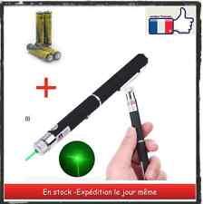 stylo - pointeur laser vert -green 1 mw +piles