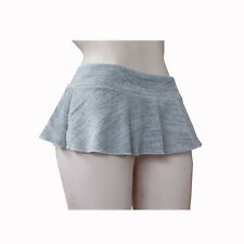 LADIES GIRLS PARTY 8 INCH 20 CMS SHORT SKATER MICRO MINI SKIRT SIZE 6 TO 18