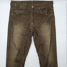 G-Star S.C.A Crotch 5628 W33 L28 braun Herren Designer Denim Jeans Hose Vintage
