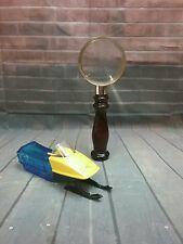 Avon After Shav Decanters: 2 oz Wild Country Magnifying Glass & 4 oz Windjammer